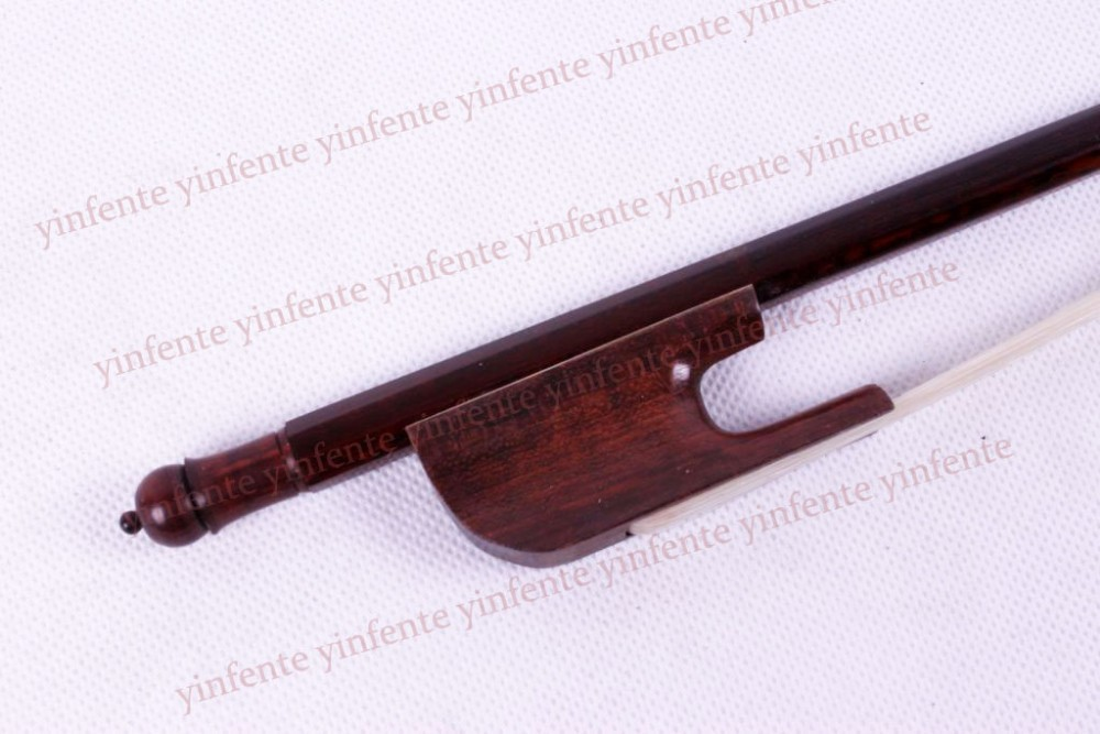New 4/4 Violin Bow SnakeWood get quality Baroque Style Violin Bow one xs 010 3 snakewood violin bow high quality 1pcs 4 4 violin bow style bone straight