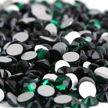 Emerald 3D Nail Art Decorations ss3 ss4 ss5 ss6 ss8 ss10 ss12 ss16 ss20 ss30 ss34 Glass/ Crystal Nails Non HotFix Rhinestones набор инновации для детей цветные лизуны червяки