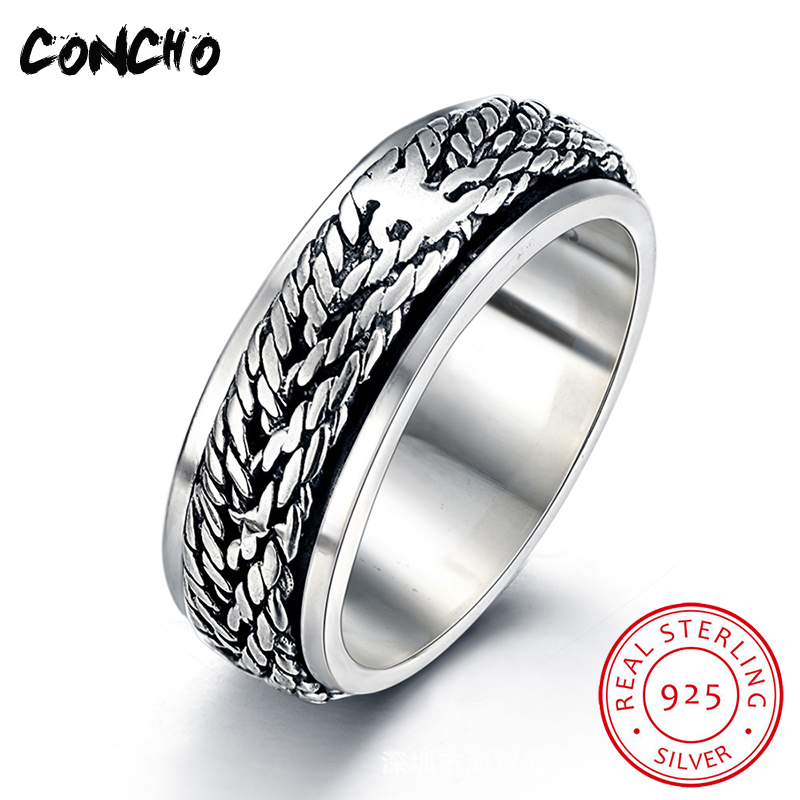 Concho Jewelry 925 Sterling Silver Geometry Opening Rings For Women Wedding Special Offers Gifts 2018 Women Wedding Rings цена