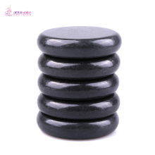 HIMABM 5 Pieces Natural Black Hot Spa Basalt Stone Massage Basalt Stone Lava Rocks 8*8cm wholesale