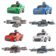 Игрушечная Автостоянка симулятор городской деформации трек развивающие игрушки со звуком и светом Пазлы для детей подарок для детей