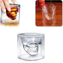4 Sizes Skull Glass Mug Decoration Creative Party Transparent Drinkware