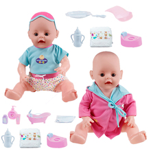 Interactive Dolls Reborn Baby Dolls Babyalive Silicone Baby Dolls Lifelike Realistic Cute Newborn Baby Alive Doll Toy Kids Gift