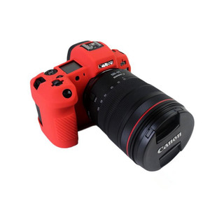 Image 4 - חדש סיליקון שריון עור מקרה גוף כיסוי מגן עבור Canon EOS R ראי דיגיטלי