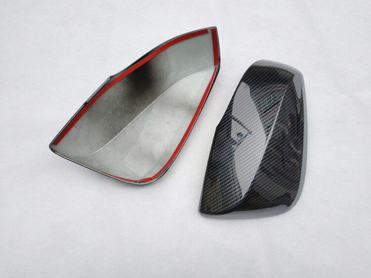 for toyota rav4 rav 4 xa50 2019 2020 accessories plastic chrome rear side view rearview mirror trim cover (5)