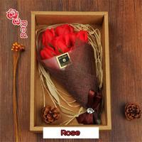 Bad Seife Rose Nelke Blume Bouquet Für Muttertag Und Valentinstag Echt Ewige Blume Kreative Geschenke