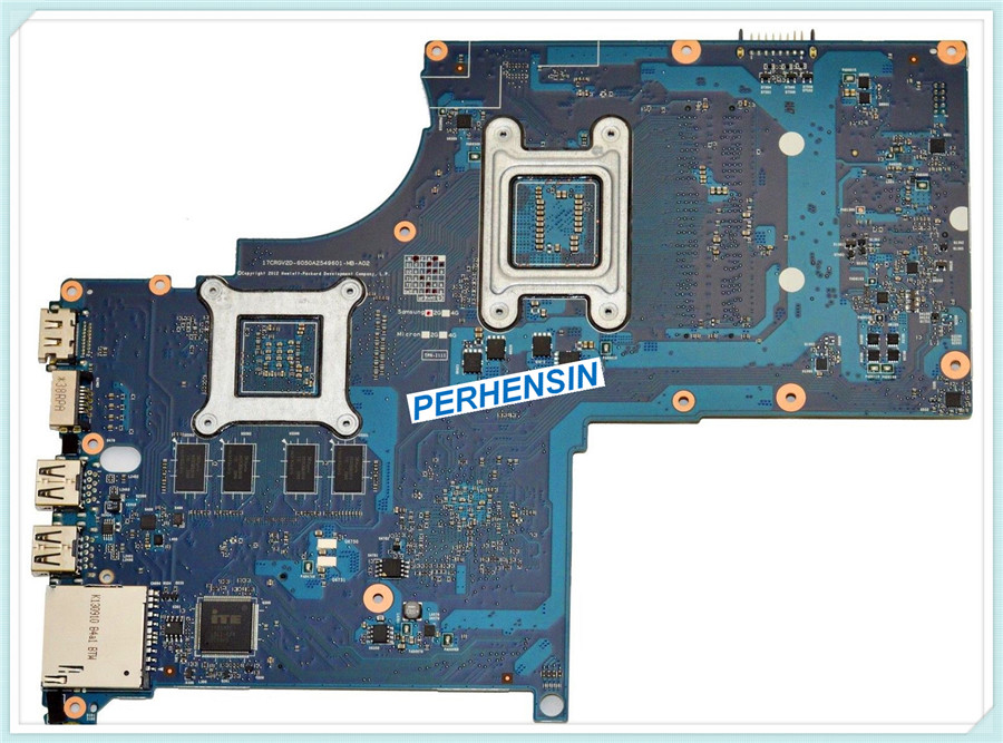 For HP For Envy 17-J Laptop MOTHERBOARD s989 6050A2549601-MB-A02  720269-501  100% WORK PERFECTLY laptop keyboard for hp for envy 4 1014tu 4 1014tx 4 1015tu 4 1015tx 4 1018tu backlit northwest africa 692759 fp1 mp 11m6j698w