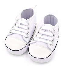 ad14b8b4170994 Купить с кэшбэком Newborn Baby Boys Classic Handsome First Walkers Shoes  Babe Infant Toddler Soft Soled
