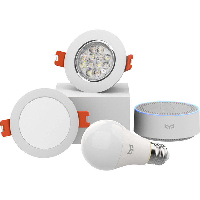 Image 4 - Xiaomi mijia yeelight bluetooth Mesh Version smart light bulb and downlight ,Spotlight work with yeelight gateway to mi home app-in Smart Remote Control from Consumer Electronics