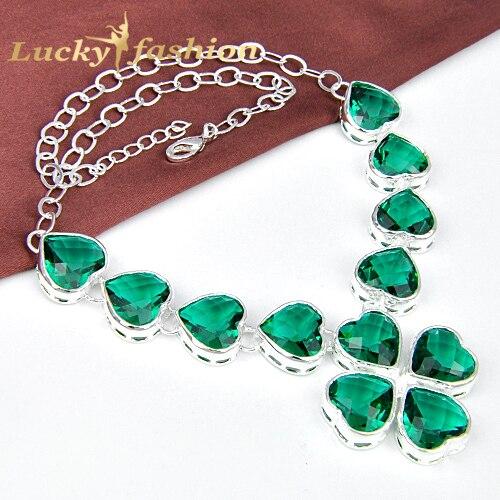 Charming Silver Chain Colar Mid-Summer Day Fashion Brand Full Heart Rhinestones Choker Necklace Fashion Jewelry 2016