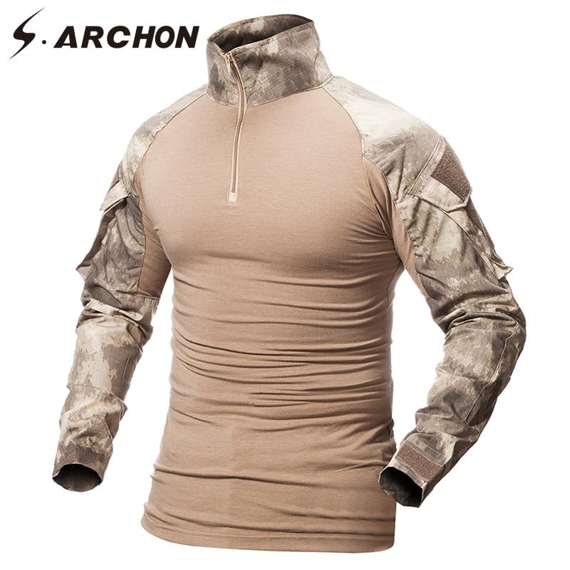 Military Camouflage Shirt Men  4