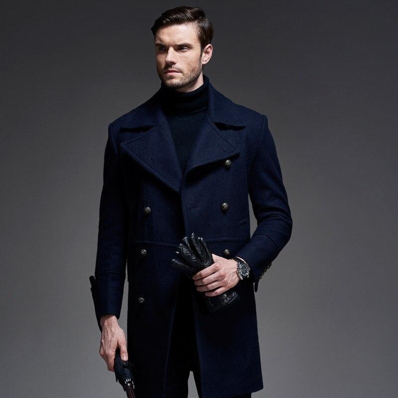 Hot 2017 New England Style Coat For Men Winter Long Wool Coat Double  Breasted Coat Men Trench Coat Mens Peacoat Overcoats T195|double breasted coat  men|mens peacoatpeacoat style - AliExpress