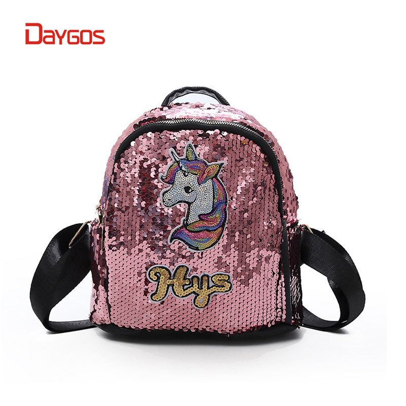 Daygos Fantastic Unicorn Bagpack For Teenager Girls Cartoon Animal Horse Schoolbags Bookbags Children Mochila Unicornio Backpack