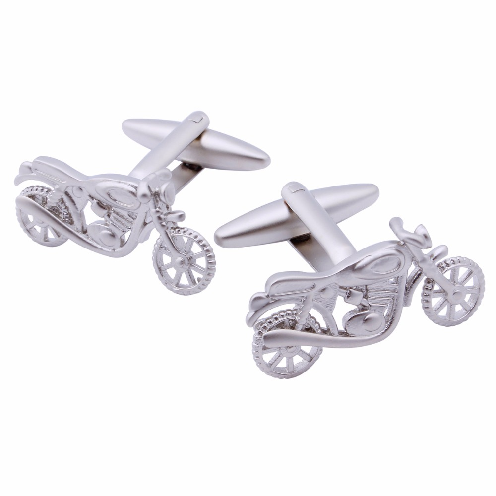 Causal Cheap Button Cool Motor Cufflinks Personalized Cuff links For Men