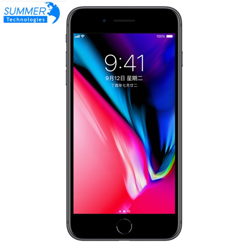 Unlocked Original Apple iPhone 8 Plus Used  Mobile phone Cell phones 3GB RAM 64/256GB ROM 5.5' 12.0 MP iOS Hexa-core(China)