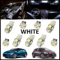 9PCS Set White LED Lights Interior Package Kit For Honda CR Z 2013 And UP