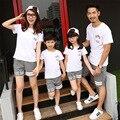 Familia Envío gratis family look juego trajes de algodón de verano juegos de los deportes Las Muchachas de la familia de madre e hija T shirts + Pants