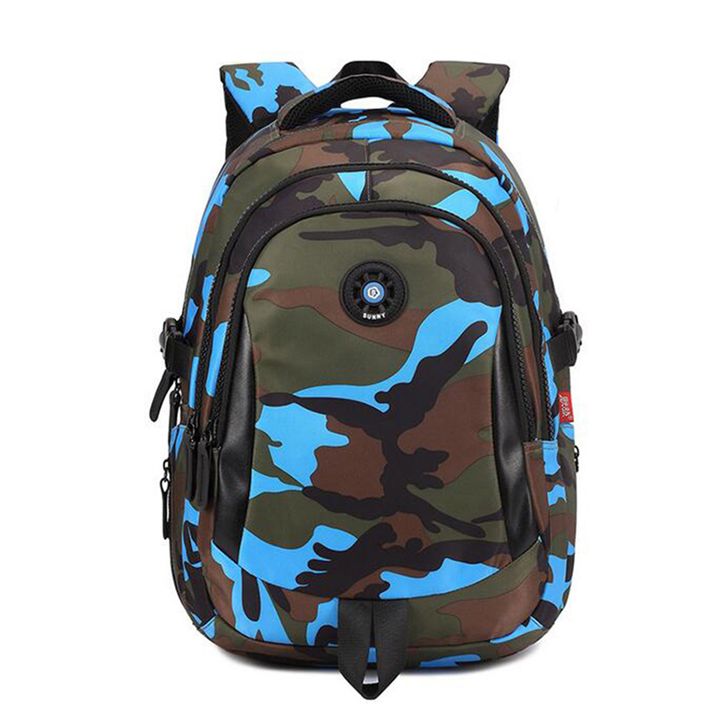 OZUKO Men Backpack 2018 Women Backpack Camouflage Printing School Bags For Teenagers Student Girls Waterproof Backpack Men fashion camouflage printing tank top for men