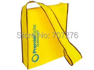 [Free Shipping+Free Shipping]80gsm Non-woven Best For Company To Promo Print Custom Logo Gift Shoulder Bag Wholesale 500pcs/lot