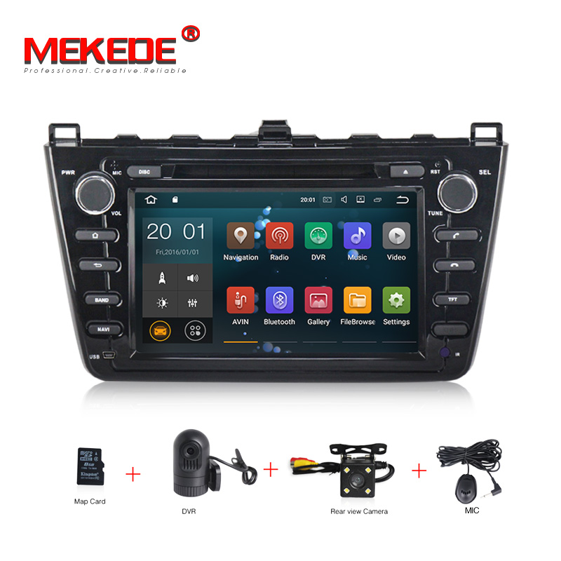 Aliexpress Com Buy Mekede 1024 600 10 Android 7 1 Car Dvd Player For Mazda 6 2008 2009 2010: 1024X600 Px3 Android 7.1 2+16g 2din Car Radio For Mazda 6 Ruiyi 2008 2009 2010 2011 2012 WIFI