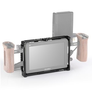Image 4 - SmallRig 7 Inch Monitor Cage for Feelworld T7 703 703S and F7S Monitor Protective Cage With Nato Rail Threading Holes   2233