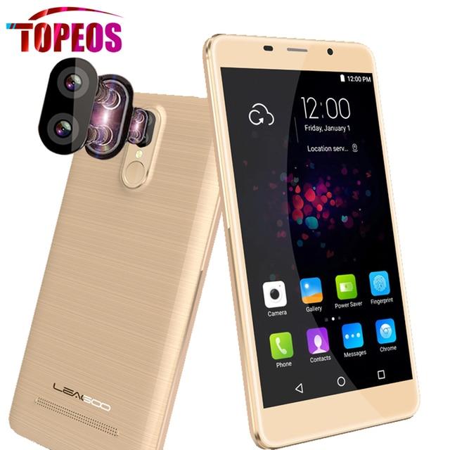 Original Leagoo M8 Pro Mobile Phone 5.7 Inch Android 6.0 MTK6737 Quad Core 1.3GHz 2GB RAM 16GB ROM HD 13.0MP Fingerprint 4G LTE