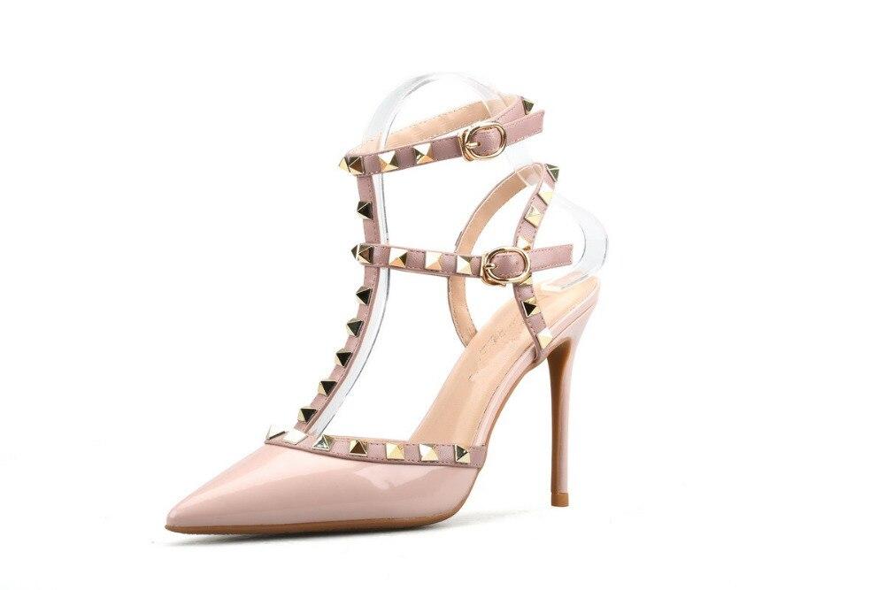 Xiangxuerou En verano, nuevas puntas de sauce ahuecadas de charol y - Zapatos de mujer - foto 2