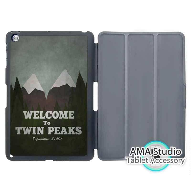 Welcome to Twin Peaks Case For Apple iPad Mini 1 2 3 4 Air Pro 9.7 Stand Folio Cover 10.5 12.9 2016 2017 a1822 New