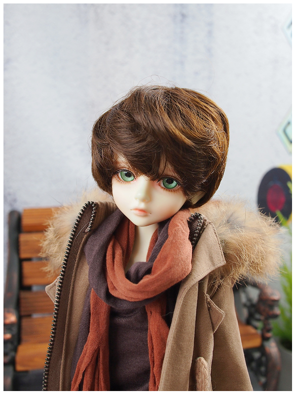 luodoll 4 points bjd doll sd doll male baby LUTS kid Delf BORY joint dolls(free eyes + free make up)
