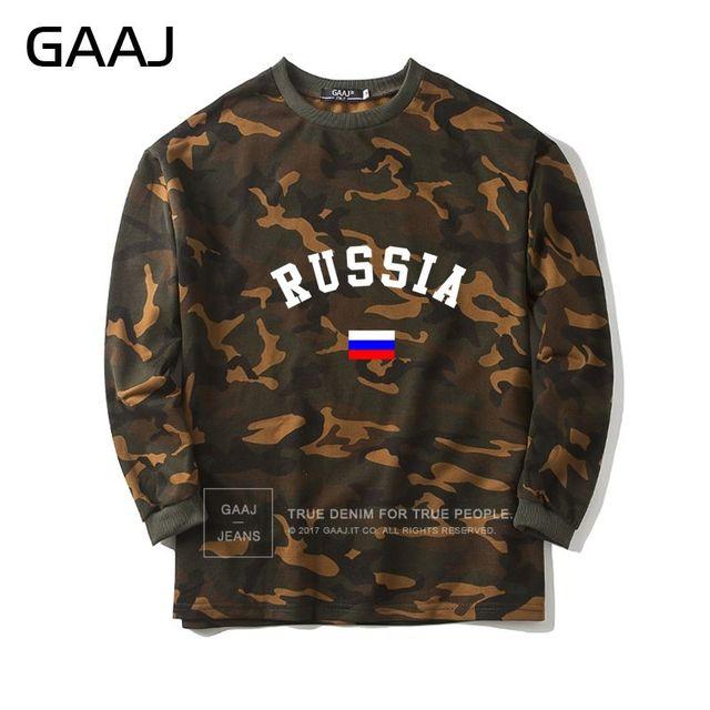 Russia Bandiera Camouflage Felpa Uomo Donna Federazione Russa Abbigliamento  Camo Hip Hop di Alta Qualità del a4b13681a7ae