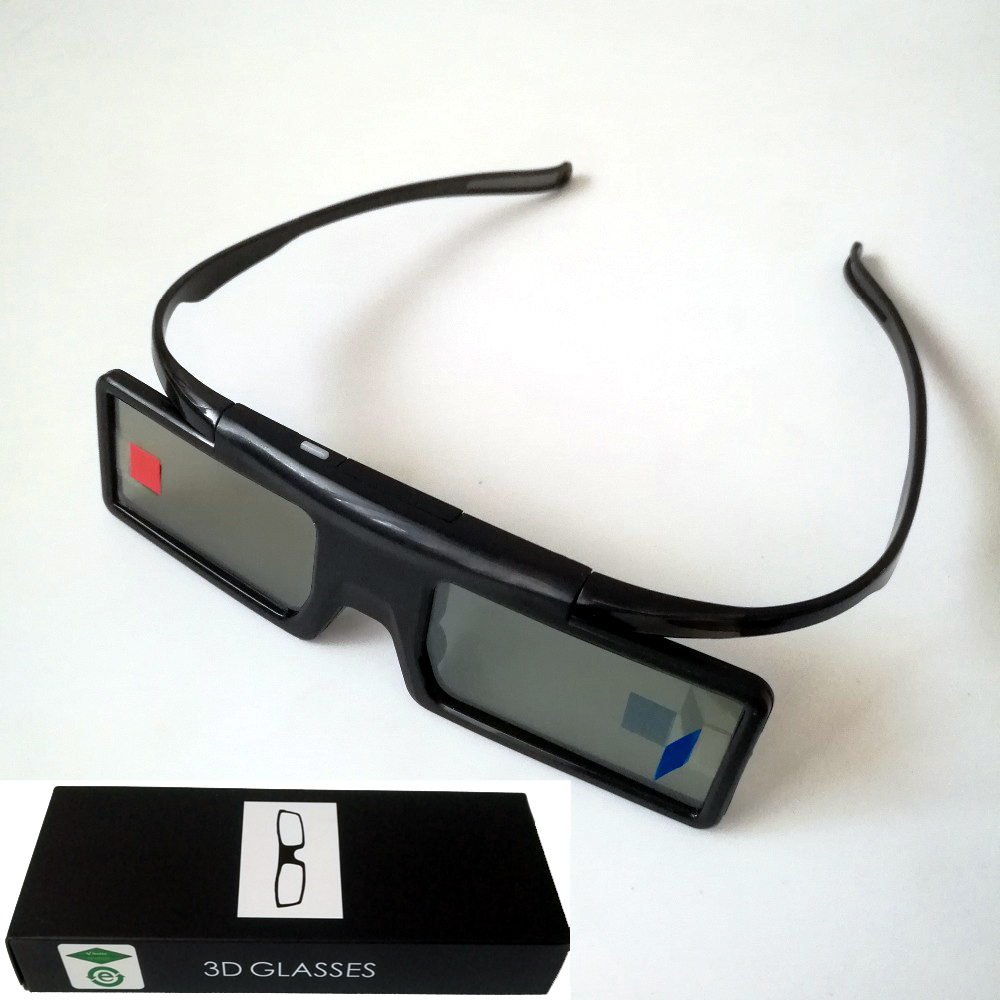 4Pcs Active Shutter Bluetooth RF 3D Glasses 480Hz for Samsung 3D TV EPSON Projector TW6600 5350