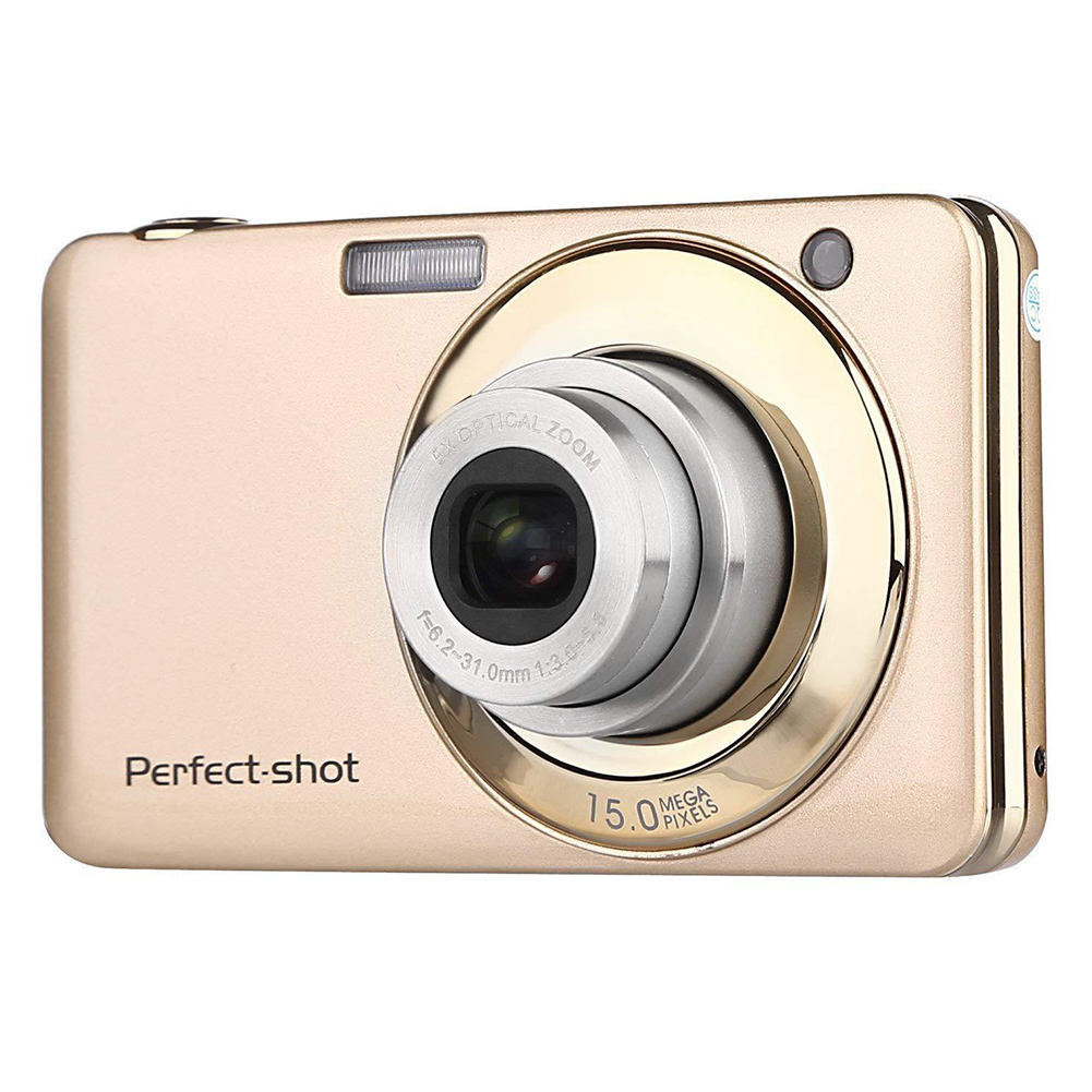 24MP Outdoor Colorful Video Record Photo Portable Optical Zoom Gifts High Definition Compact Digital Camera Kids Face Detection