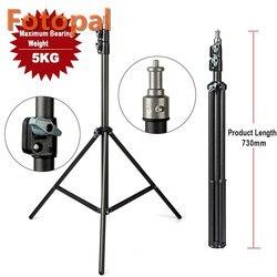FotoPal 2 м светильник штатив видео с 1/4 винт подшипник головки вес 5 кг для студийной камеры софтбокс вспышка отражатель светильник ing