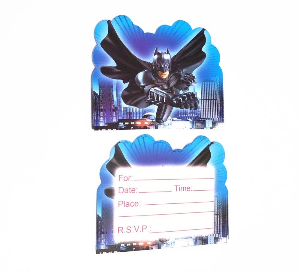 Buy batman birthday invitation and get free shipping on AliExpress.com