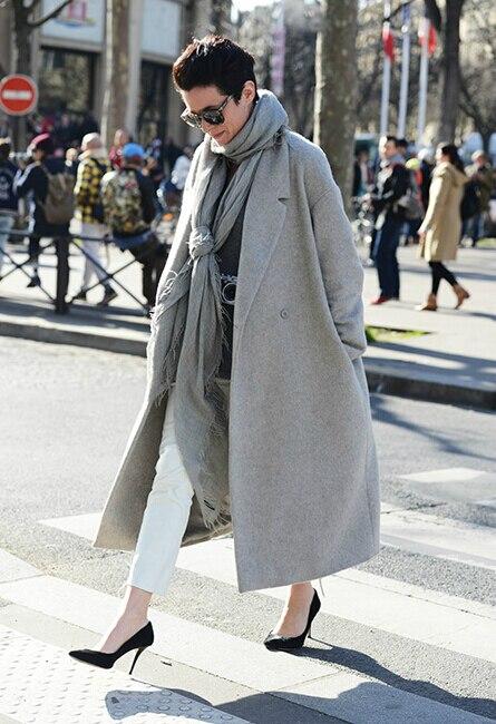 printemps automne femme vintage cocon manteau maxi manteau manteau oversize plus la taille s. Black Bedroom Furniture Sets. Home Design Ideas