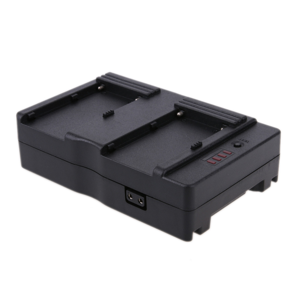 DC13.0-16.8V F2-BP V Mount Battery Adapter Plate for Sony NP-F970 F750 F550 For Canon DSLRs for NP-F Series Battery зарядное устройство для фотокамеры esydream uk eu sony np f330 np f550 np f570 np f750 np f770 np f550