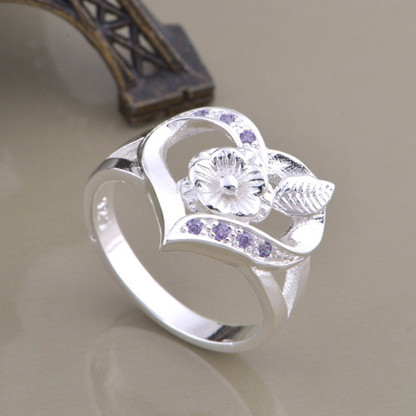 wholesale High quality silver Fashion jewelry rings WR-872