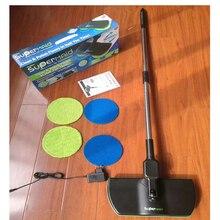Перезаряжаемые 360′ вращения Cordless пол Очиститель скруббер полировщик Электрический поворотный швабры из микрофибры для очистки Швабра для дома