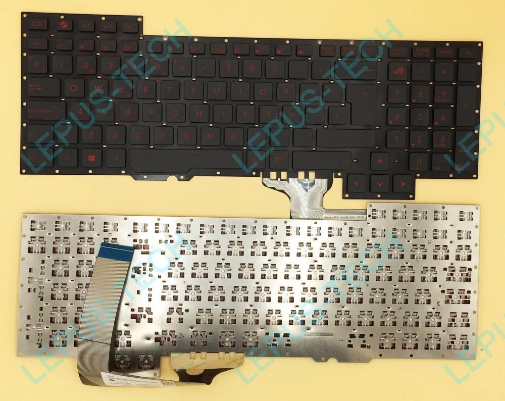 все цены на Original SP LA Keyboard for ASUS for ROG 751J G751 G751JY G751JT G751JM keyboard Spain 0KNB0-E601SP00 ASM14C36E0J442 онлайн