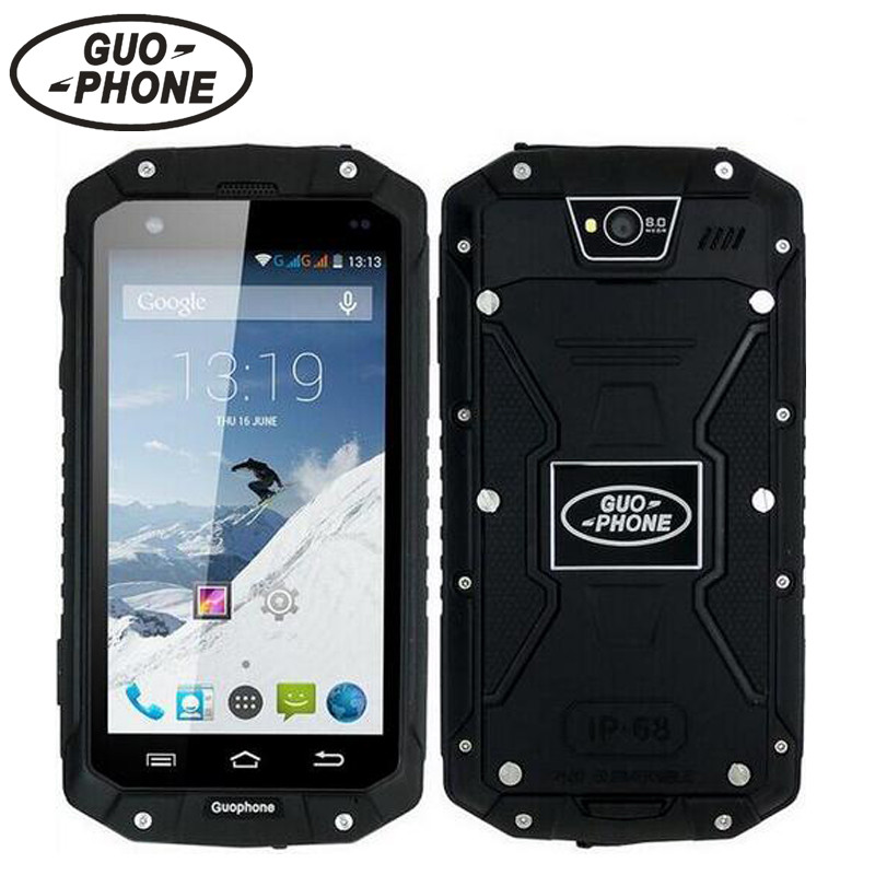 Original GuoPhone V9 Phone With IP68 MTK6580 Android 5 1 3G GPS 4 5 Inch Screen