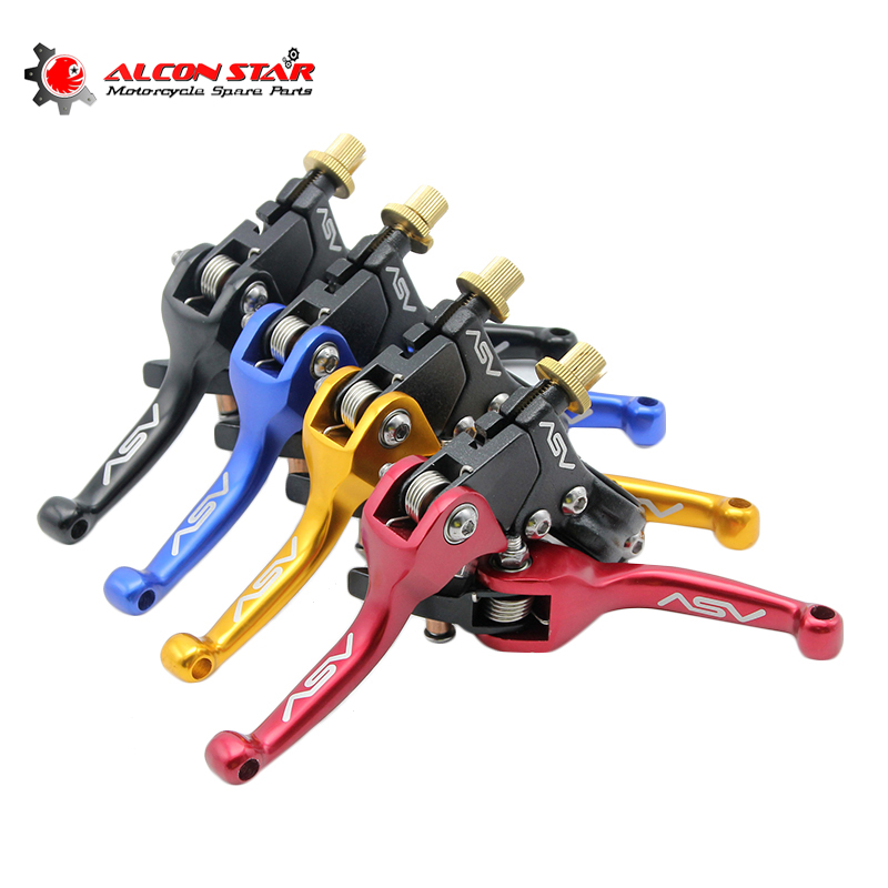 ZSDTRP Motocross Pit Dirt Bike CNC Aluminium ASV Brake Clutch Levers Handle For Honda Triumph Yamaha Suzuki Benelli Ducati