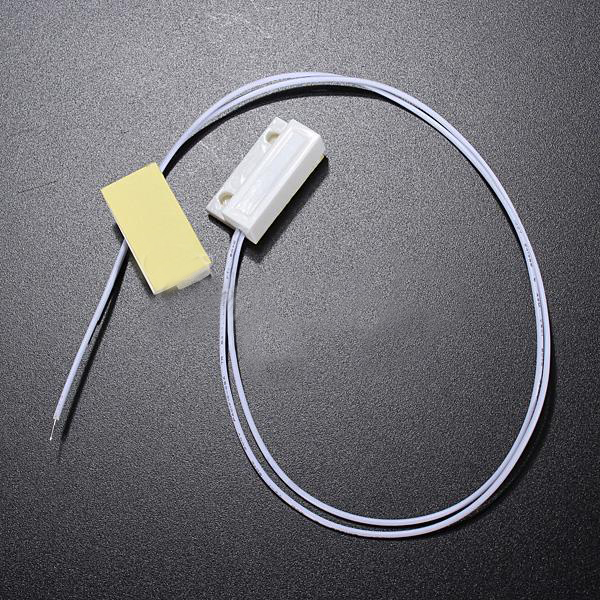 Wholesale 1 Set Recessed Door Window Contacts Magnetic Reed Security Alarm Switch