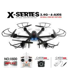 MJX X600 Upgrade 2.4G 6 Axis RTF RC Quadcopter Drone Add C4005 & C4008 FPV Camera  Flying Dron Helicoptero with Hd Camera