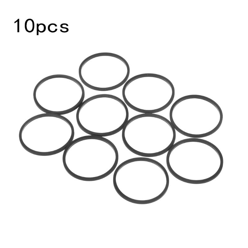 10PCS DVD Disk Drive Rubber Belts Replacement for Xbox 360 Microsoft Stuck Disc Tray Accessories