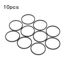 Correas de goma para unidad de disco DVD, 10 Uds., repuesto para Xbox 360, accesorios de bandeja de disco atascada de Microsoft