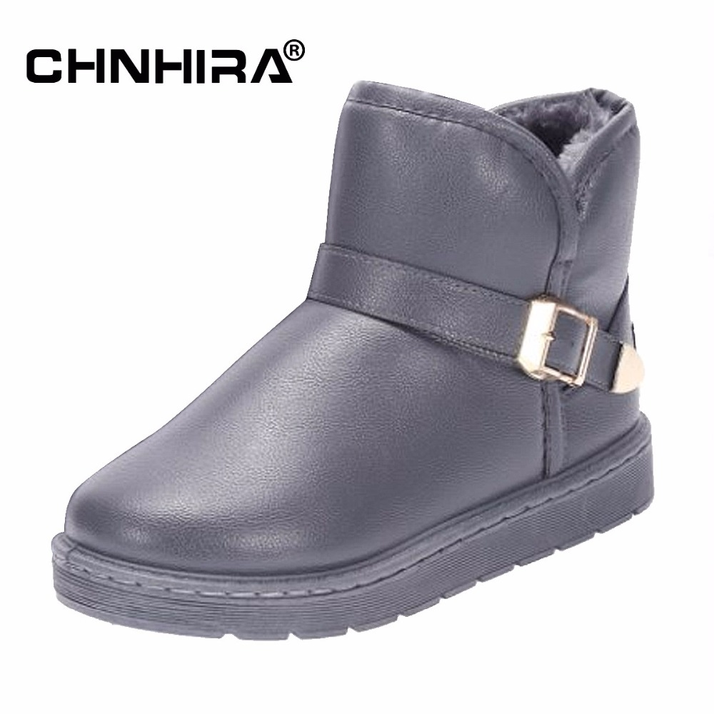 CHNHIRA Winter Women Boots Female Waterproof Ankle Boots Down Snow Boots Ladies Shoes Woman Warm Fur Botas Mujer Elastic#CH2096 brand women boots thicken warm winter ladies snow boot women shoes woman fur ankle boots chaussure femme botas mujer 2017 svt905