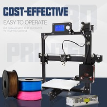 High quality reprap prusa i3 Anet A2 3d printer with plus size 220*270*220mm aluminum frame 0.4mm nozzle cheap diy 3d printers