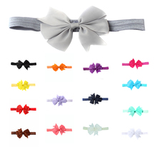 1pc headwrap baby headbands headwear girls bow knot hairband head band infant newborn Toddlers Gift tiara hair accessories стоимость
