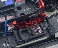 ALLRC 6061 CNC Alüminyum alaşım metal Diferansiyel kilidi braket Isteğe Bağlı yükseltme traxxas trx 4 paletli rc araba parçaları için
