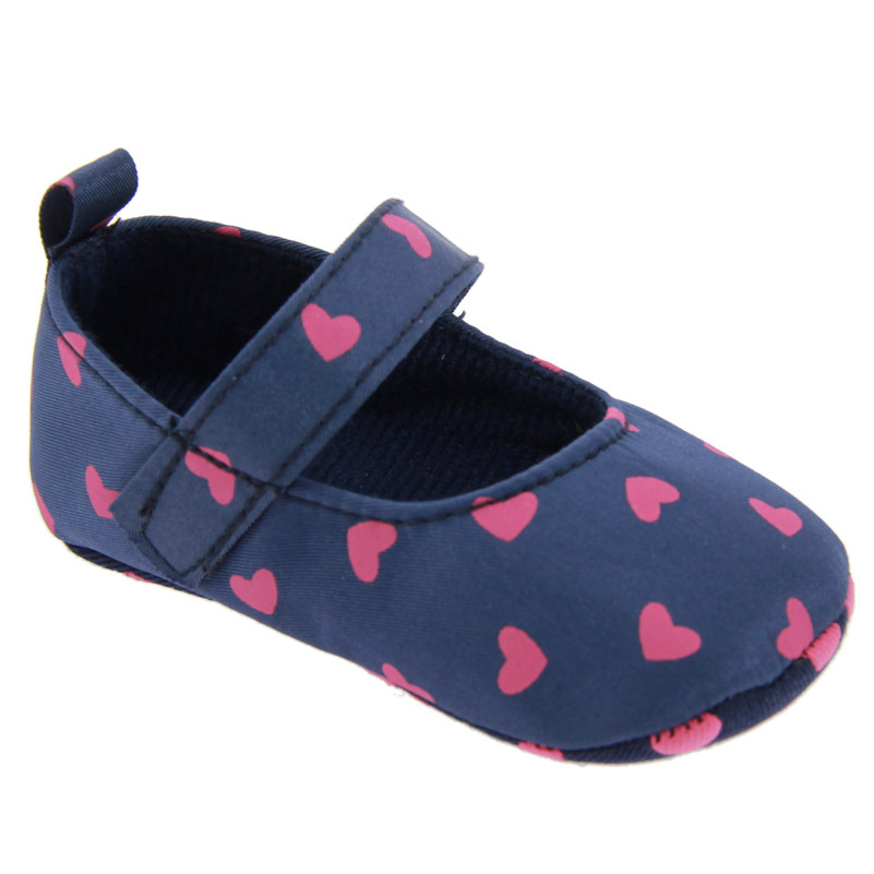 Baby First Walkers Baby Shoes Cute Polka Dot Non-slip Soft Bottom Toddler Shoes for Baby Girls